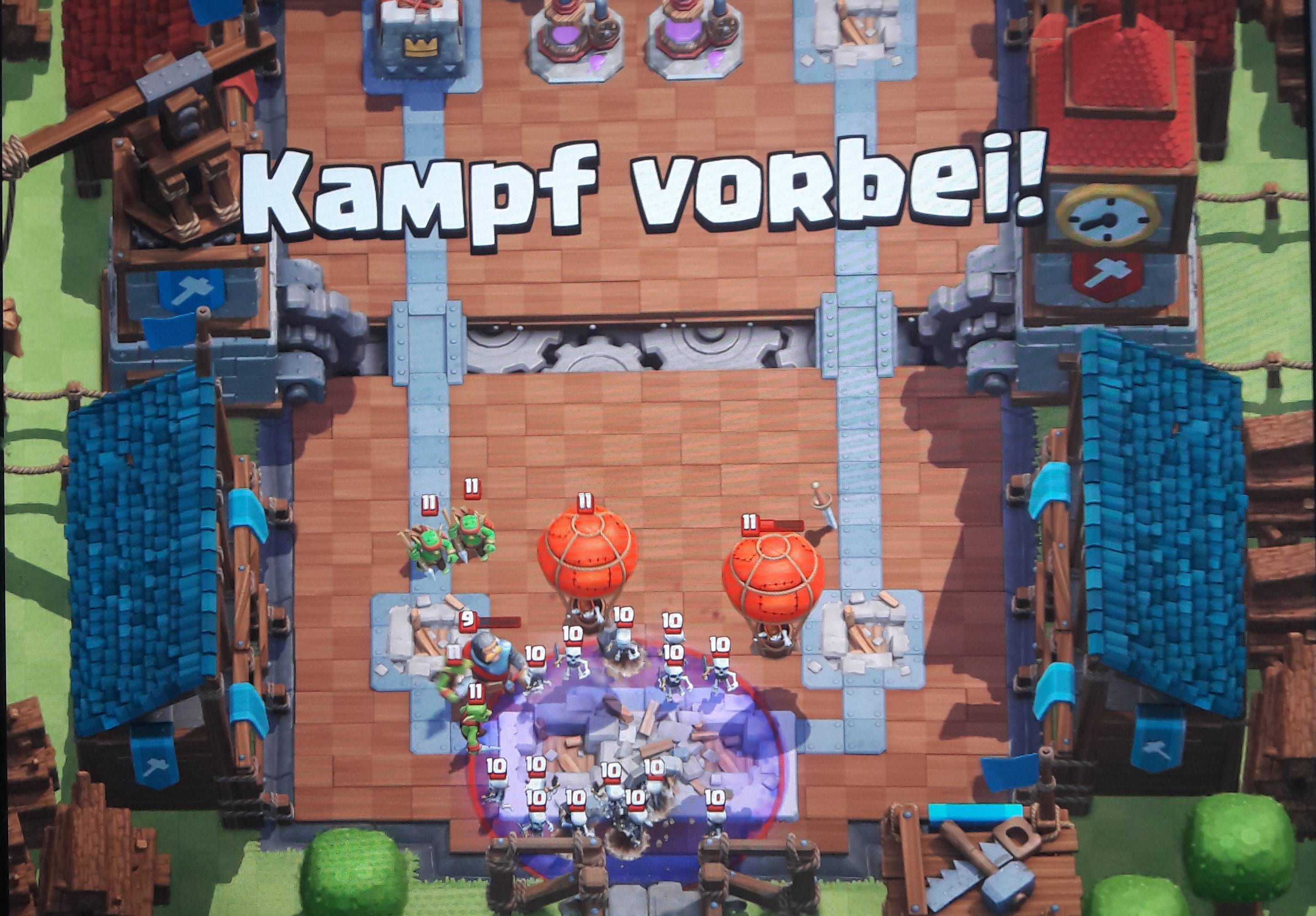 Optimal Führen mit Clash Royale