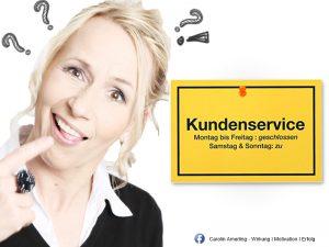 Carolin Amerling, Selbstmanagement - Die 3 TOP Antworten für schlechten Kundenservice