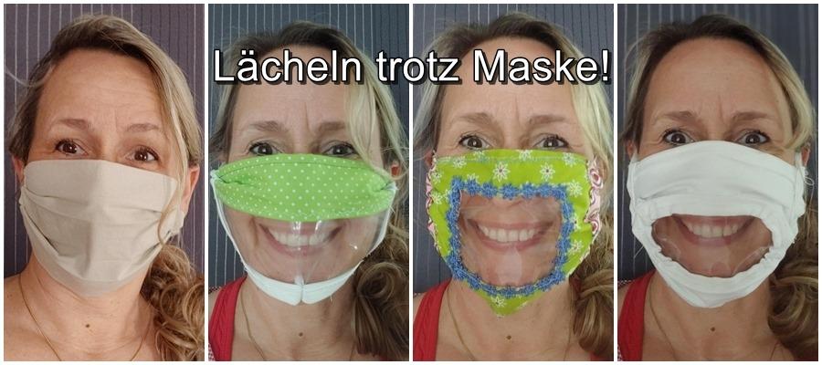 Lächeln trotz Maske